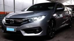 Vendo (somente para venda) Honda Civic Exl 2017 cor Prata com 47.500 km originais