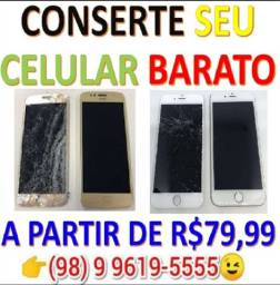 Promoção Novo de Novo - Troca de tela do iPhone com qualidade.