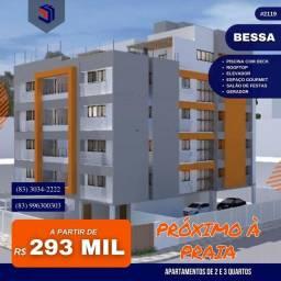 Título do anúncio: Apartamento para Venda em João Pessoa, Bessa, 2 dormitórios, 1 suíte, 1 banheiro, 1 vaga