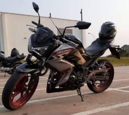 Kawasaki Z300 ABS 2019 vendo ou troco R$ 18800,00