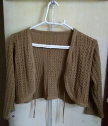 Casaco Crochê (tamanho M)