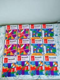 Livros Bernoulli semi-novos 8ano e 5ano coleção completa.