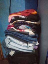 Troca lote de blusa e bermuda t g e gg por secador