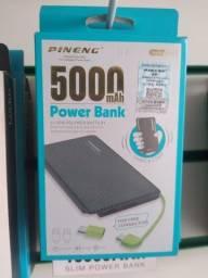 carregador portátil 5000mah power bank