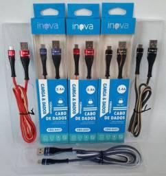 Cabo veloz 2.4A INOVA tipo V8/Micro USB