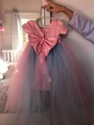 Vestido menina luxo