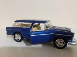 Carrinho De Ferro Miniatura Chevy Nomad 1955 Escala 1:40