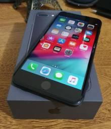 Iphone 8 Plus Space Gray Perfeito Estado Com N. Fiscal