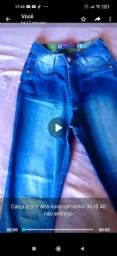 Calça jeans alta nova tamanho 36