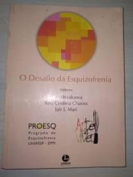 Livro psicologia psiquiatria. O desafio da esquizofrenia. 1998
