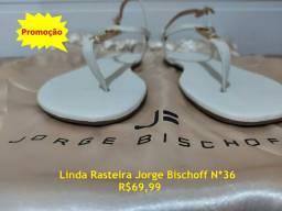 Sandálias/Rasteira Jorge Bischoff Nova