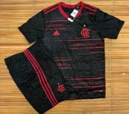 Camisa ou conjunto do Flamengo