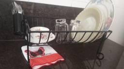 Escorredor de pratos rustico