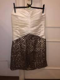 Vestido tubo curto