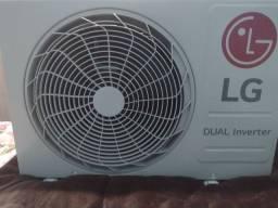Ar Condicionado Split LG Dual Inverter Voice 12.000 BTU/h Frio - 220 Volts - aceito cartão