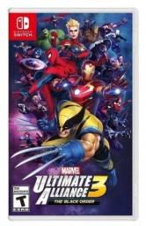 Jogo Marvel Ultimate Alliance 3: The Black Order Nintendo Switch Mídia Física