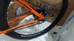 Bicicleta aro 29 freio a disco
