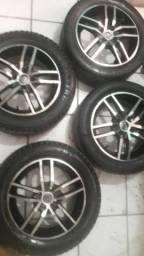 Roda 15com pneu