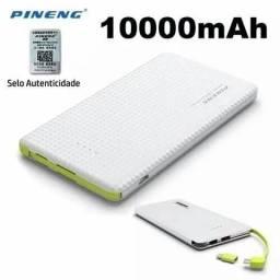 Power Bank pineg 100%original 10.000mah Pn-951 entrega imediata