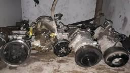 Variedade de compressor do ar condicionado