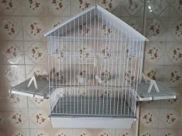 Gaiola Média para Pássaros - Abre as Laterais