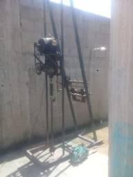 Máquina de furar poço artesiano
