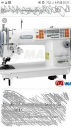 Máquina de costura reta eletrônica SIRUBA MUITO POUCO USADA