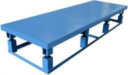 Mesa vibratoria para mouroes palanque e pre moldados para blocos e pavers