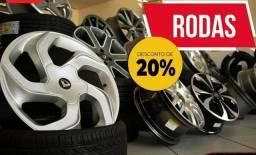 Promoção de rodas novas mf pneus