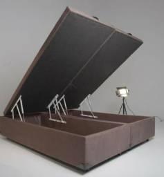 Box baú Queen 158x198 Preço de fabrica apenas 799,00
