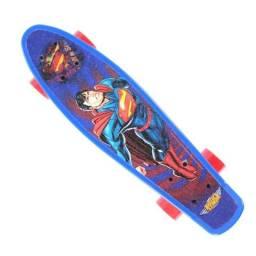 Cruiser Skate Liga da Justiça Justice League ? Super Homem Superman