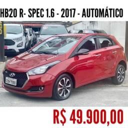 HB20 2017/2017 1.6 R SPEC 16V FLEX 4P AUTOMÁTICO