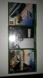 Jogos de Xbox one (vendo ou troco)