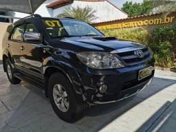Toyota Hilux Sw4 SRV 2006/2007 4x4 3.0 Turbo (aut) Completa Preta Diesel - 2007
