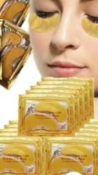 Mascara ouro Para área dos olhos