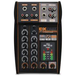 Mesa De Som Automotivo Expert Mx-1 12v Stereo 4ch