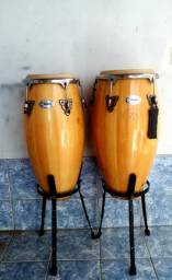 Vendo par de Congas (27)99988-2109