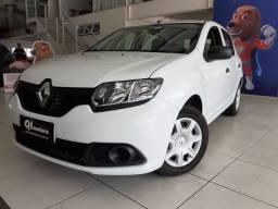 A*M Renault Sandero Authentique 1.0 2018/2019 Completo Baixo km