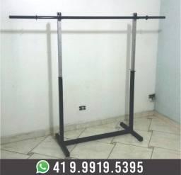 Suporte para Supino+Barra de 1,80m Musculação Academia Novo! Fabricação Própria