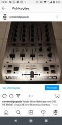 Vendo mixer Behringer vmx300. R$ 350,00