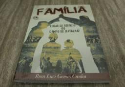 """Livro Evangelico """" Familia, um lugar de refúgio ou campo de batalha?""""(novo)"""