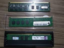 Memórias DDR3 4GB 70$ cada
