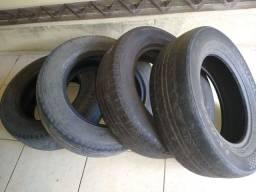 Troco 4 pneus aro 16 em aro 13