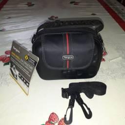 Bolsa para câmera digital e câmera de vídeo digital