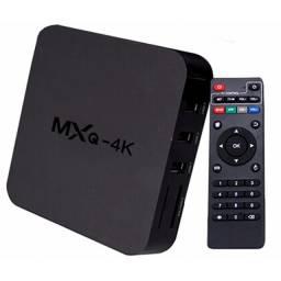 MXQ Box Tv Android Smart Tv 4k Filmes Conversor Hdmi Original