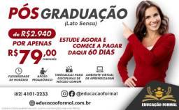 Pós graduação EAD Online a partir de R$ 79 mensais - A oportunidade que você esperava