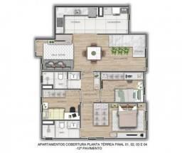 Apartamento à venda com 4 dormitórios em Centro, Ponta grossa cod:V4598
