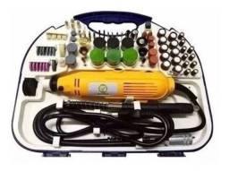 Kit Mini Retífica 212 Acessórios Similar Siga Tools