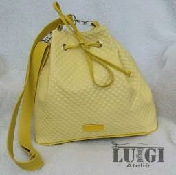 Bolsa Saco Amarela