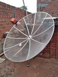 Aparelho Century Mídia Box + Antena parabolica